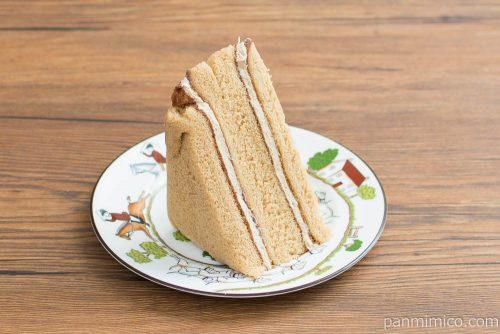 三角サンドモカコーヒー【ヤマザキ】横から見た図