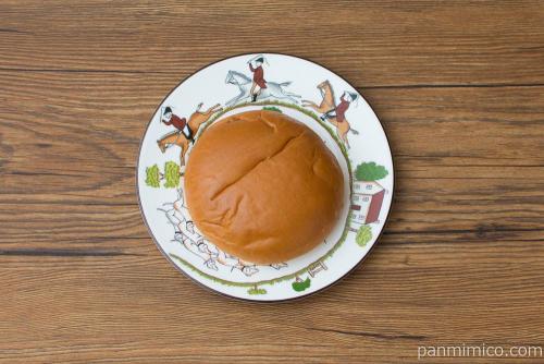 神戸プリンクリームパン【神戸屋】上から見た図
