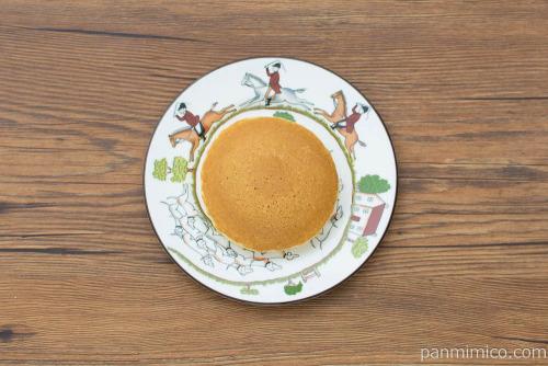 ホットケーキ カフェラテ【フジパン】上から見た図