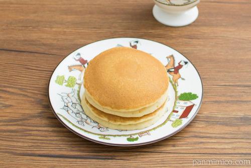 ホットケーキ カフェラテ【フジパン】横から見た図