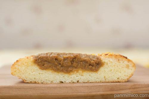 宮崎牛 肉みそパン【第一パン】断面図