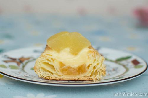 りんごのパイ【ヤマザキ】断面図