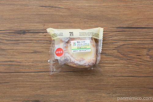 窯出しベイクドレモン チーズクリーム【セブンイレブン】パッケージ