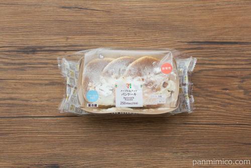 メープル&ナッツ パンケーキ【セブンイレブン】パッケージ