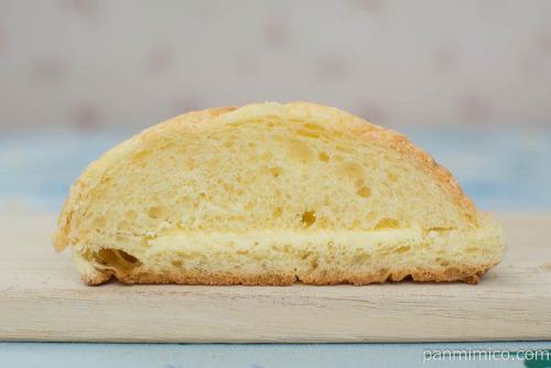 素敵なメロンパンSweet&Salty【第一パン】断面