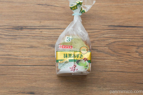 抹茶あずきゴールド【ヤマザキ】パッケージ