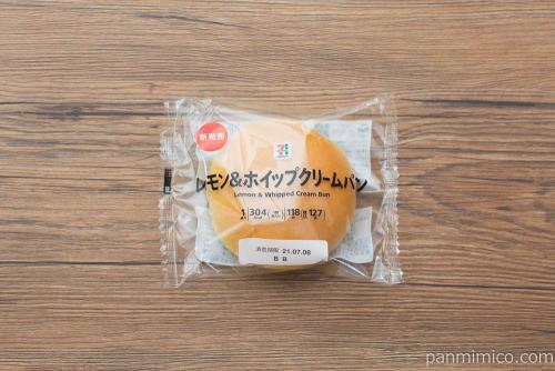 7プレミアム レモン&ホイップクリームパン【セブンイレブン】パッケージ