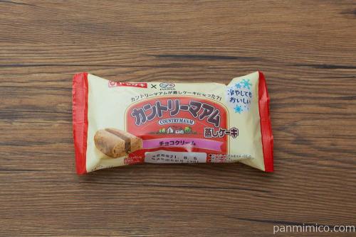 カントリーマアム蒸しケーキ 【ヤマザキ】パッケージ