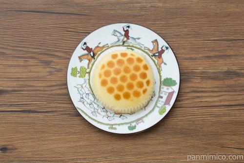 ハニーチーズ蒸しケーキ【ヤマザキ】上